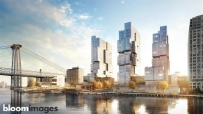 bloomimages | ODA Residential Towers in Brooklyn-NYC